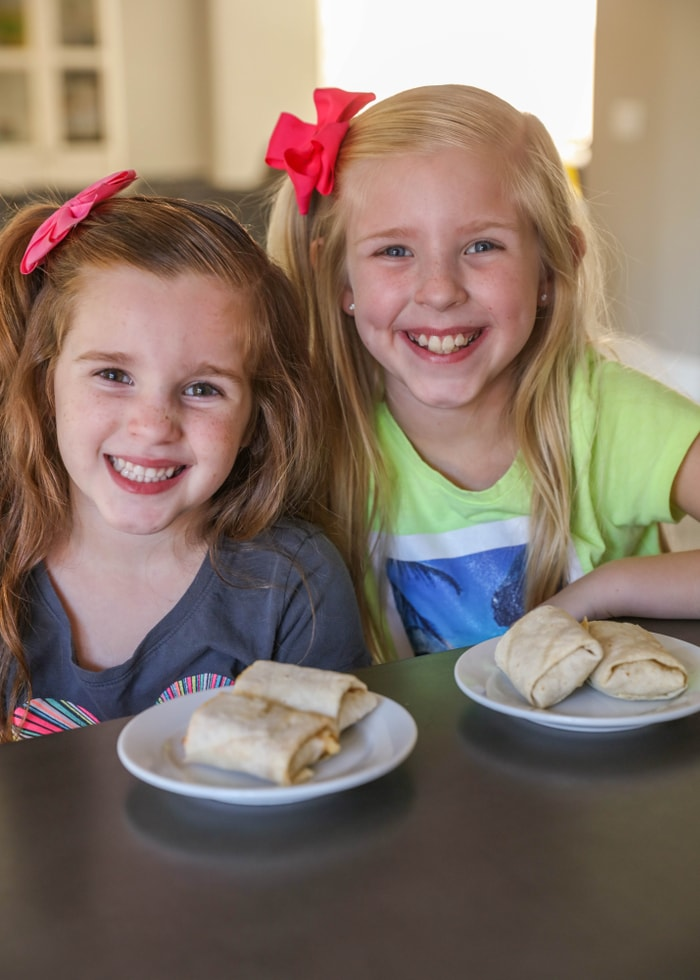 DELICIOUS El Monterey Breakfast Burritos - a family favorite!