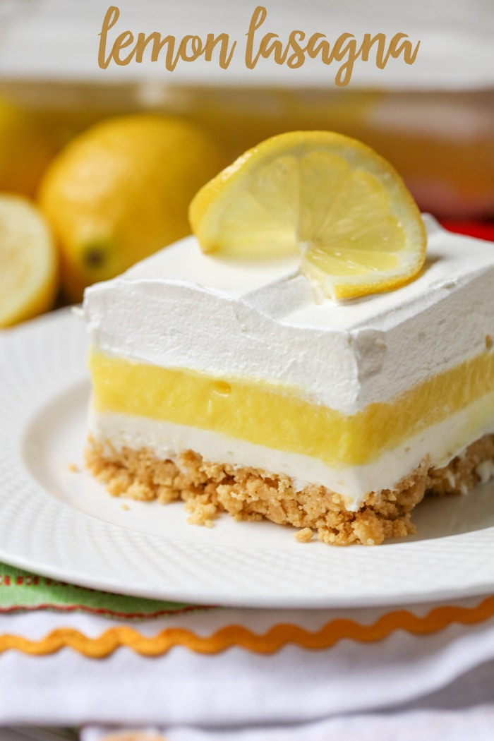 Lemon Lasagna Recipe