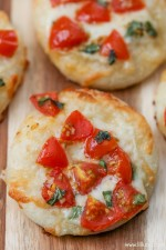 Mini Margherita Pizzas