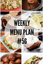 Weekly Menu Plan 56