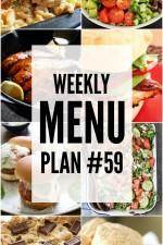 Weekly Menu Plan 59