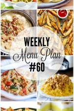 Weekly Menu Plan 60