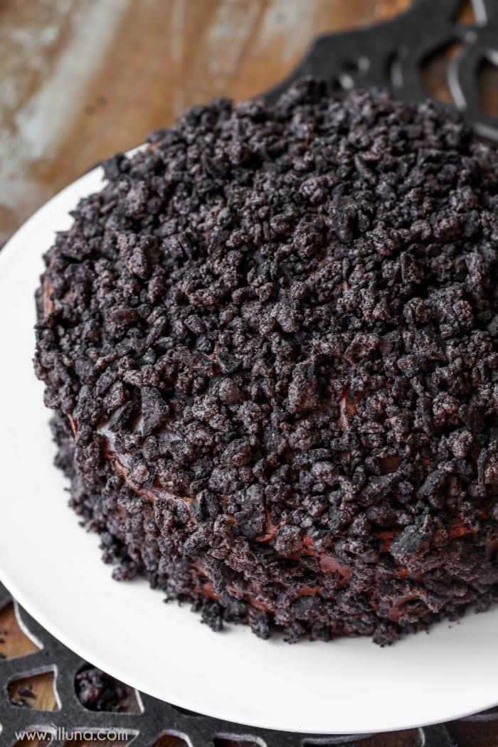 chocolate-oreo-spider-cake-3