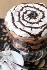Chocolate Spider Trifle
