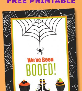 We've Been Booed - Free Printable