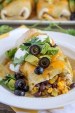 Green Chili Smothered Burritos