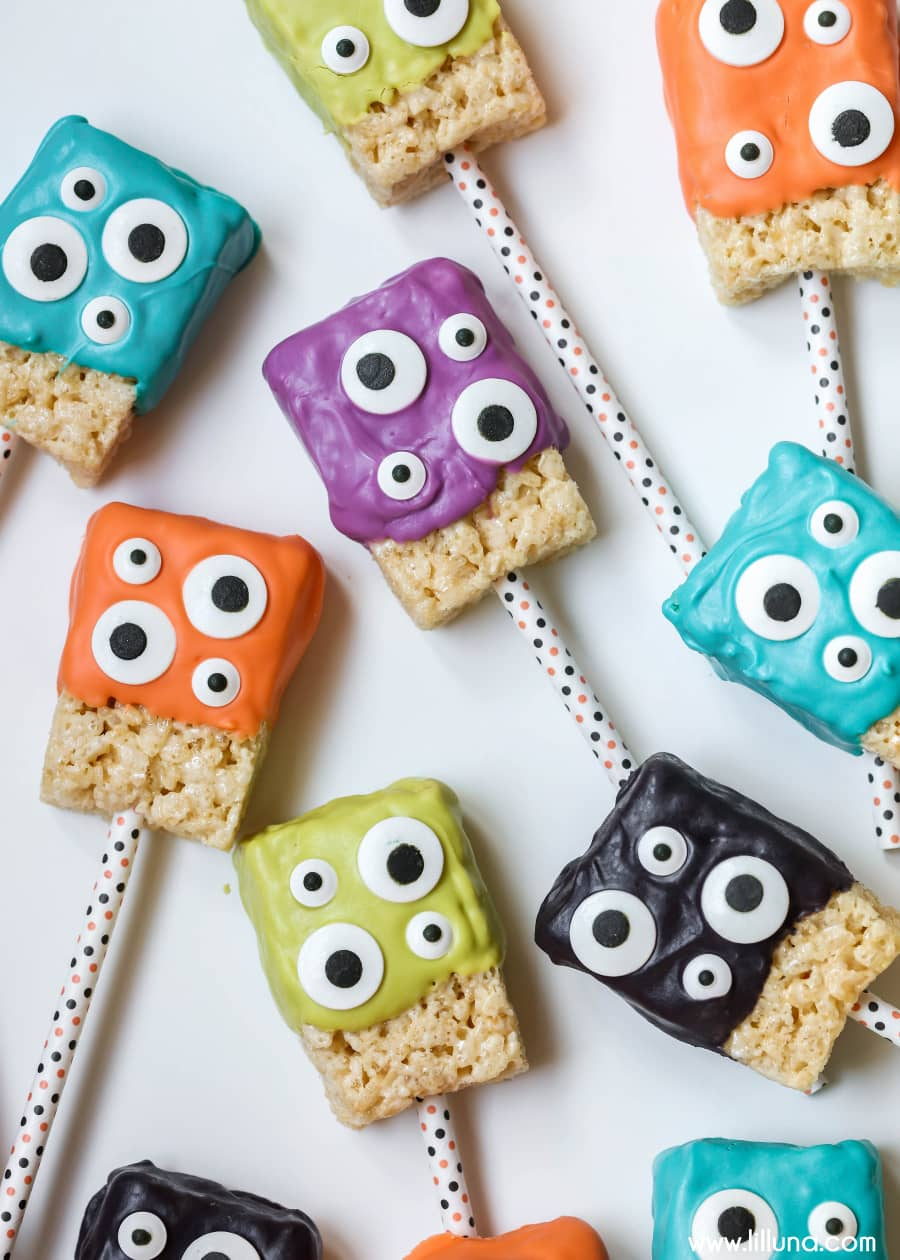 Monster Rice Krispie Treats Recipe Lil Luna