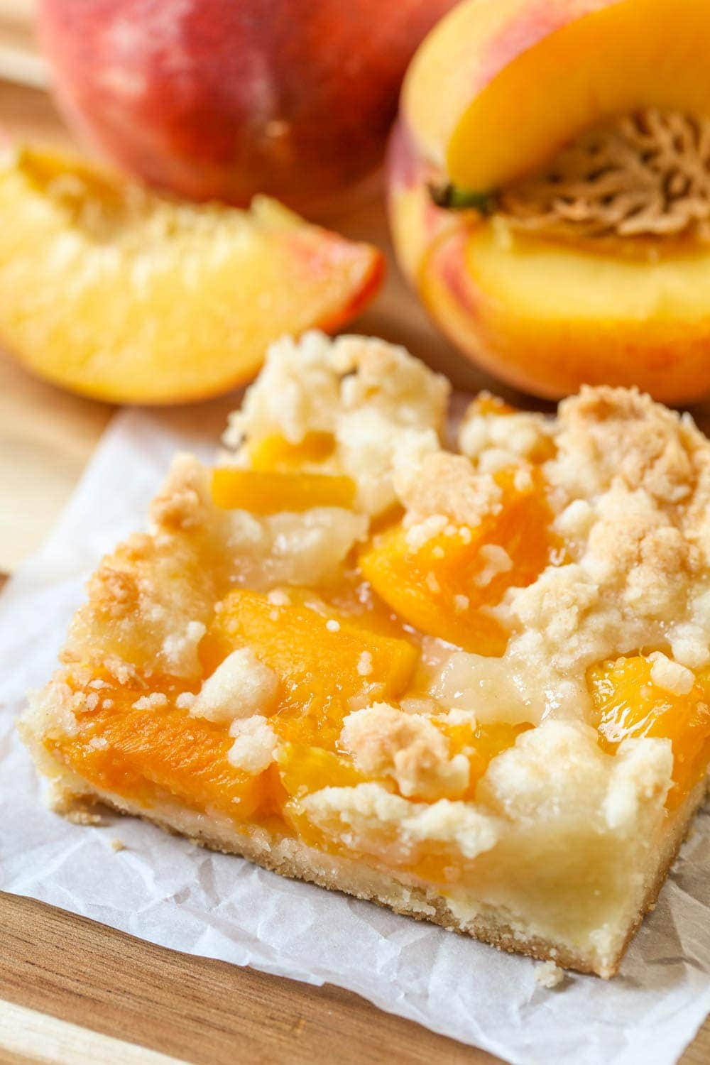 Peach bar recipe
