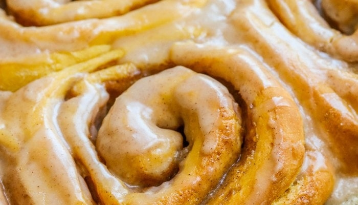 Soft Pumpkin Cinnamon Rolls