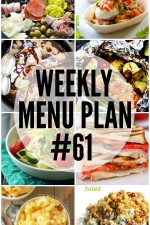 Weekly Menu Plan 61