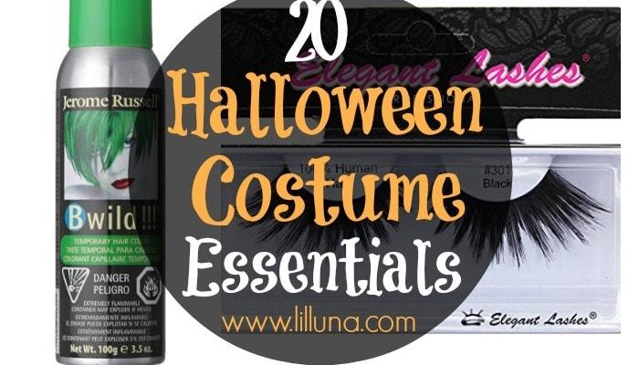Halloween Costume Essentials