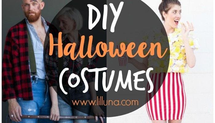 50+ DIY Halloween Costume Ideas