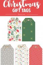 Free Christmas Gift Tags + 2016 Christmas Planner