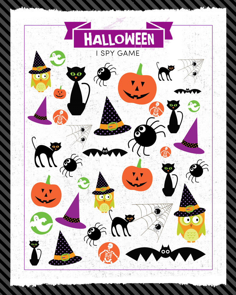 Versatile image with halloween printable