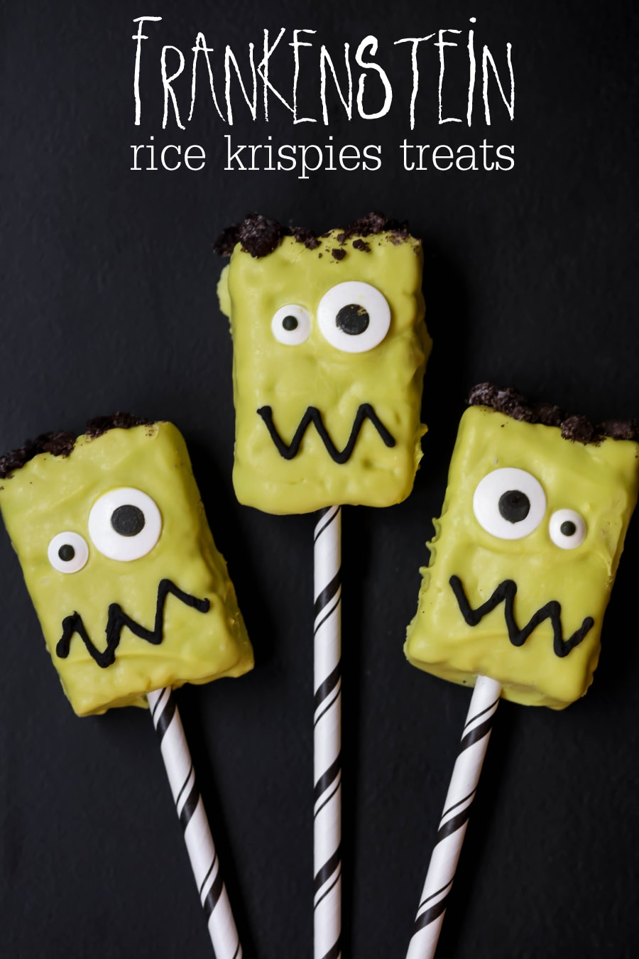 frankenstein rice krispies treats fun festive and adorable treats perfect for halloween parties and