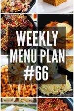 Weekly Menu Plan 66