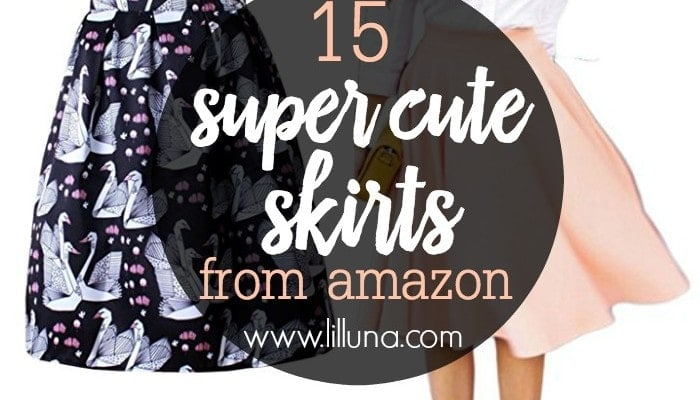 15 Cute Skirts from Amazon