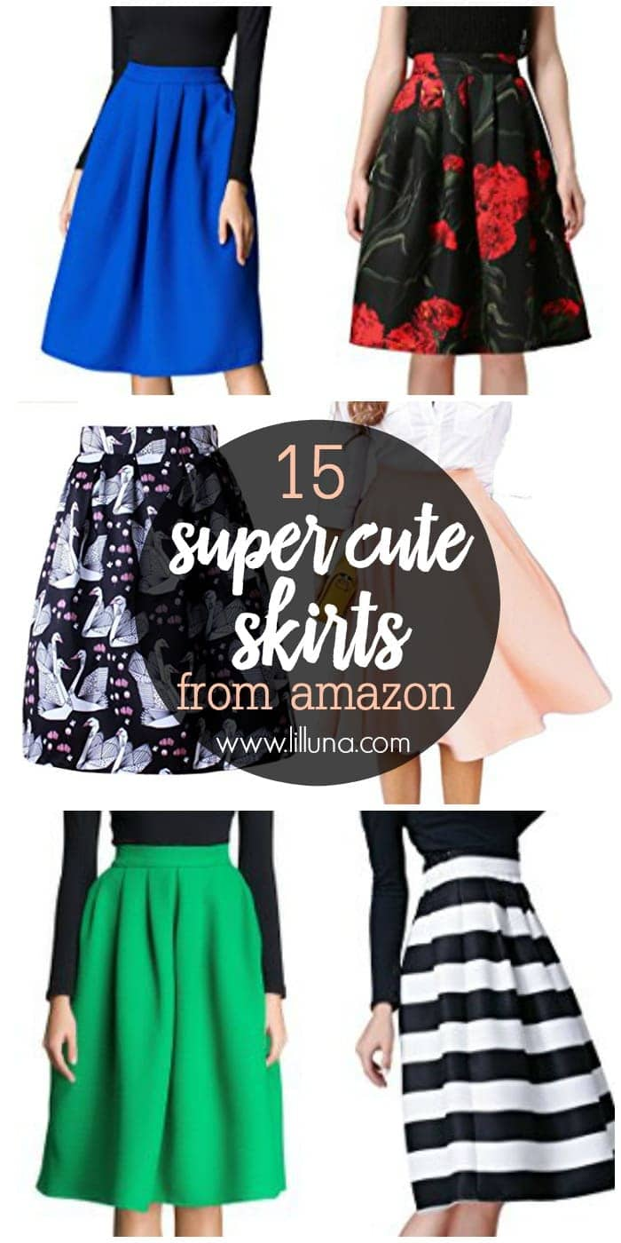 15 Cute Skirts from Amazon - Lil' Luna