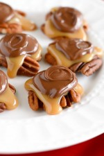 Chocolate Caramel Pecan Turtles