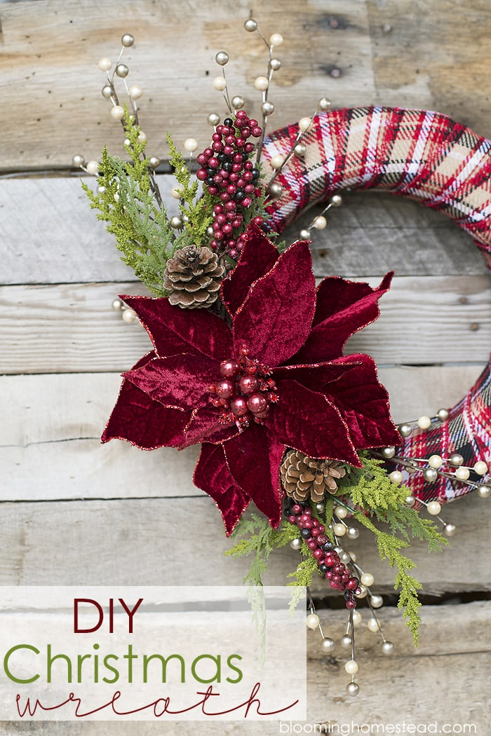 Diy Christmas Wreath Lil Luna