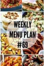 Weekly Menu Plan 69