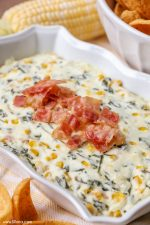 Bacon Corn and Spinach Dip
