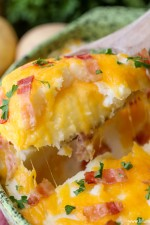 Cheesy Stuffed Mashed Potatoes