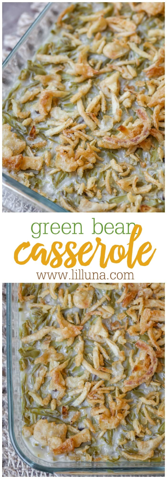 Simple Green Bean Casserole Recipe