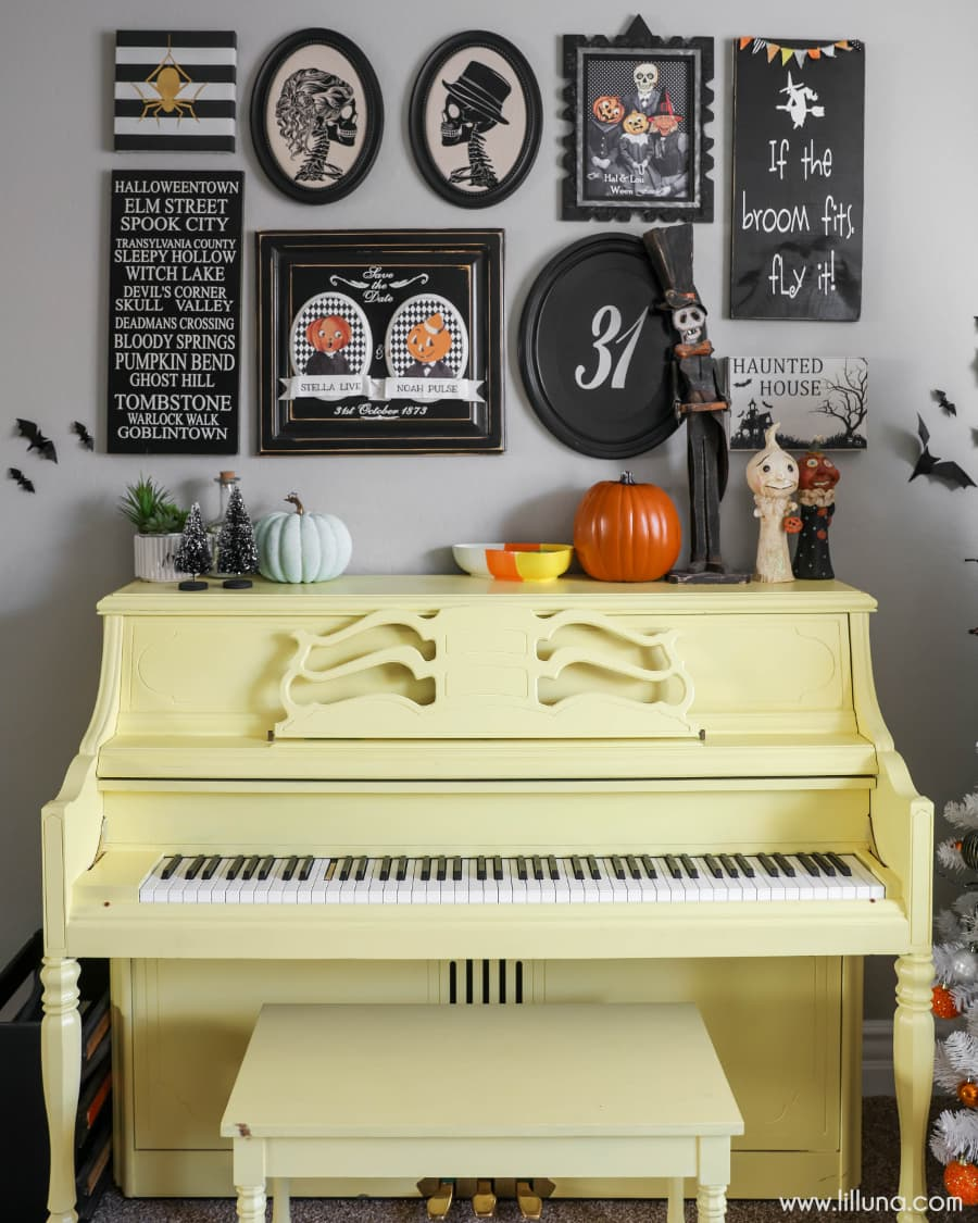 halloween gallery wall decor hallowen walljpg halloween gallery wall halloween tree   halloween gallery wall