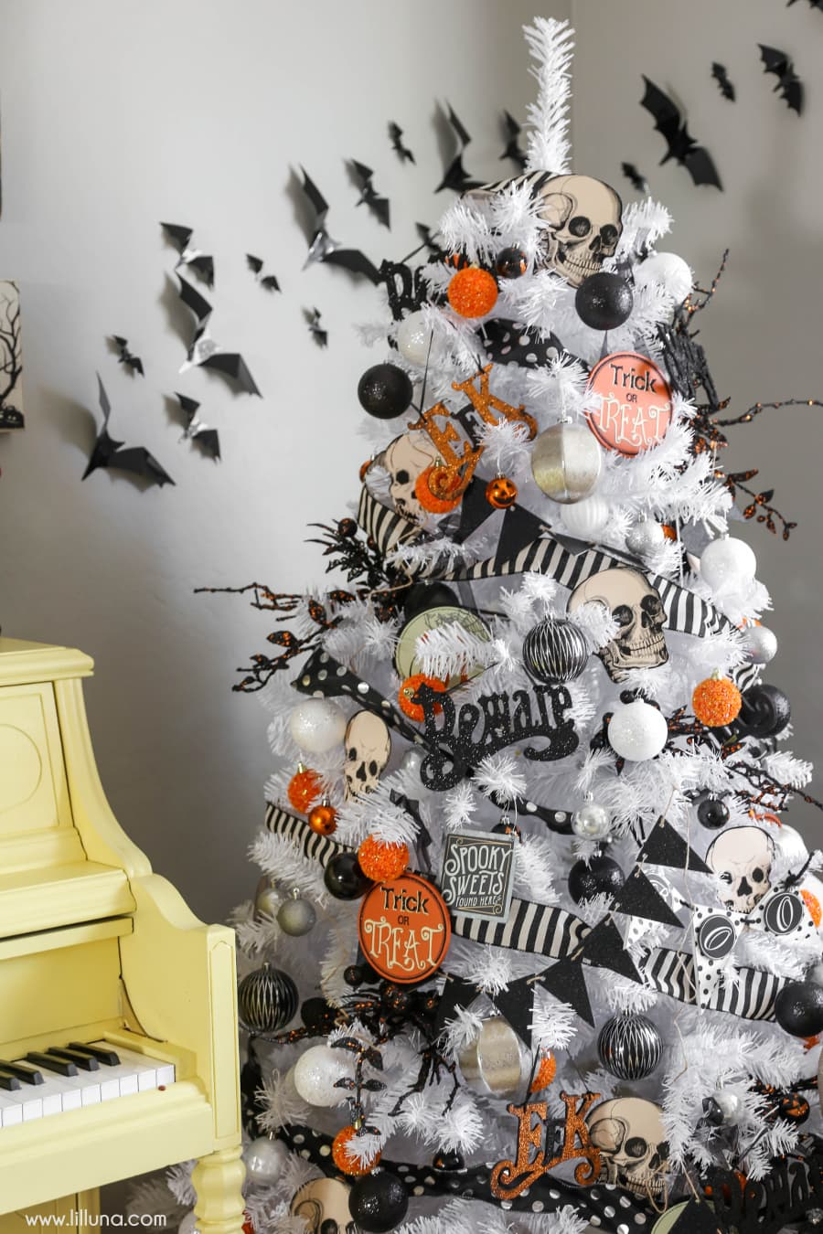 halloween tree a great idea to add to your halloween decor this year - Target Christmas Decorations 2016