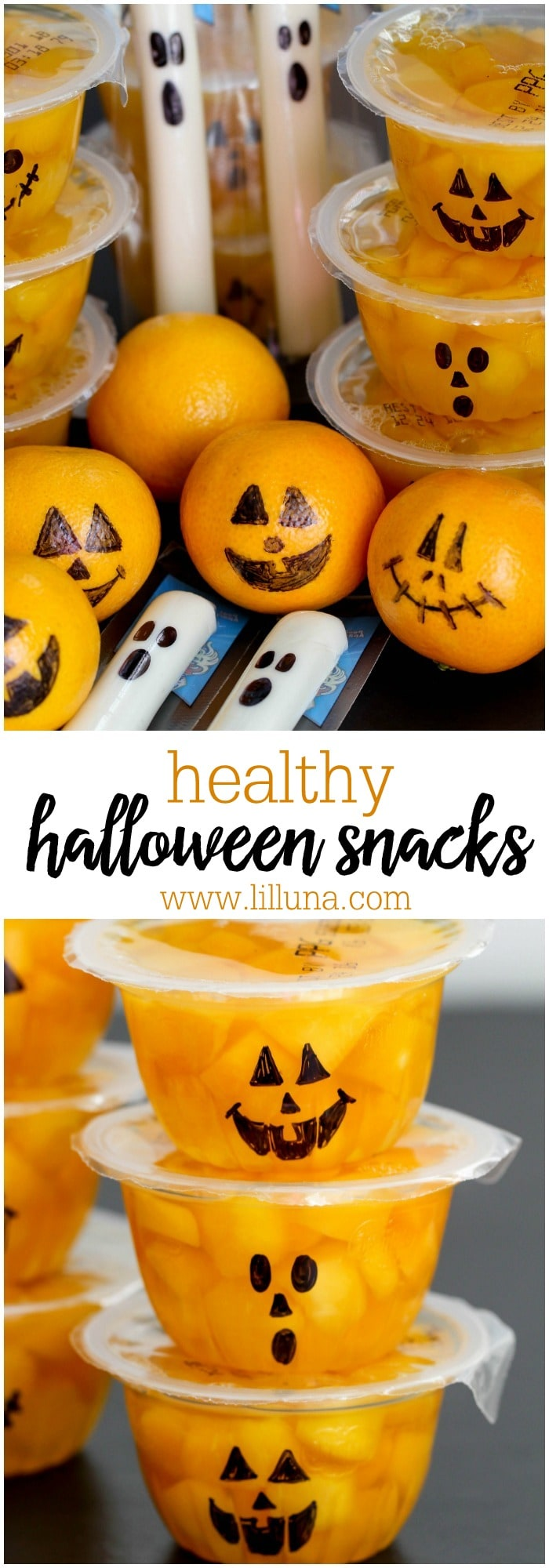 Healthy Halloween Snacks for Parties