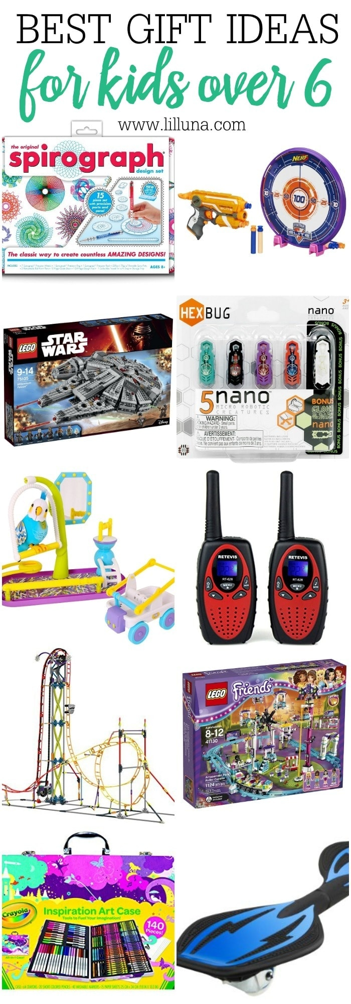 Best Gifts For Kids 6 And Older Great Ideas Christmas Or Even Birthdays