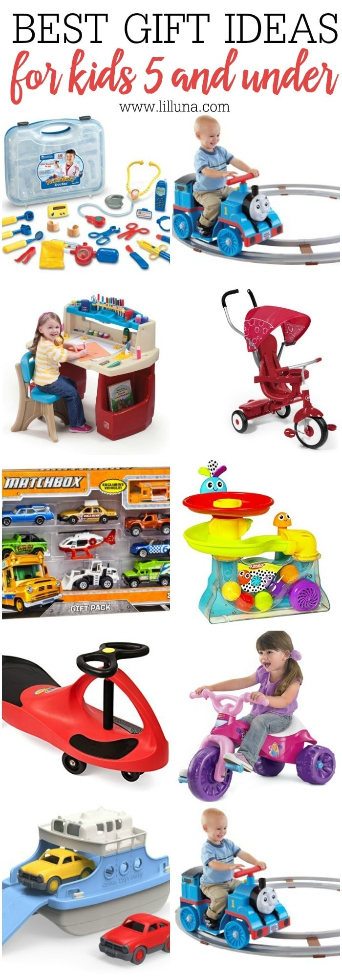 the best gift ideas for kids 5 and under great ideas for christmas or even