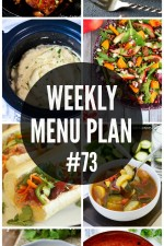 Weekly Menu Plan 73