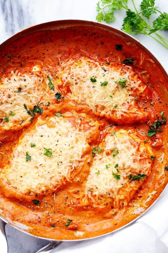 Creamy Tomato Italian Chicken