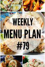 Weekly Menu Plan 79