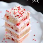 Cherry Sugar Cookie Bars with Cream Cheese Frosting