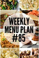 Weekly Menu Plan 85
