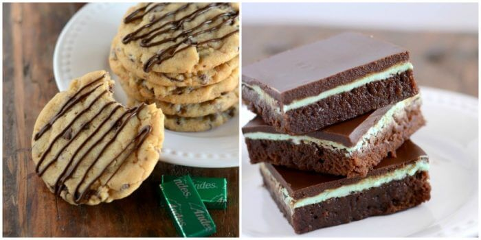 chocolate-mint-recipes-collage