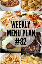 Weekly Menu Plan 82