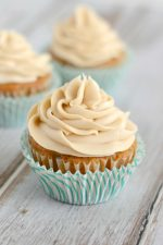 All the flavors of your favorite carrot cake in cupcake form. The brown sugar cream cheese frosting is simply divine!