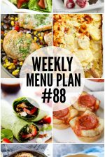 Weekly Menu Plan 88