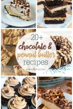 20+ Chocolate and Peanut Butter Desserts
