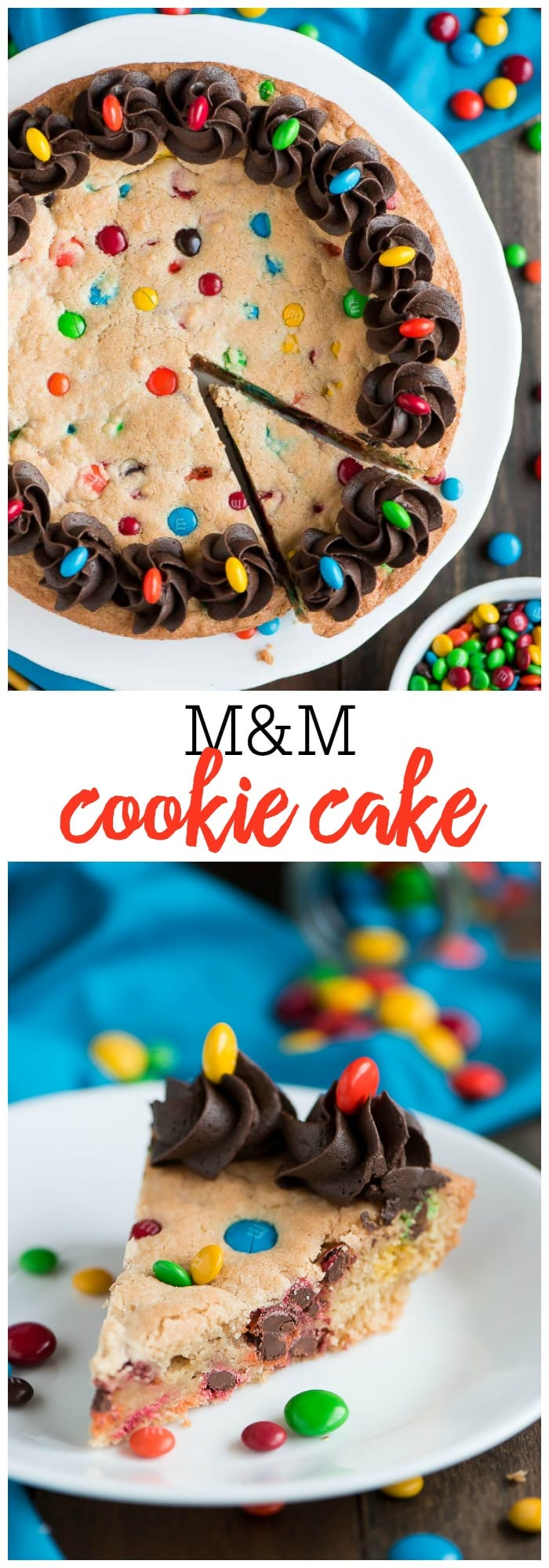 FAVORITE MM Cookie Cake recipe Lil Luna