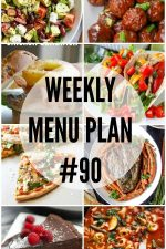 Weekly Menu Plan 90