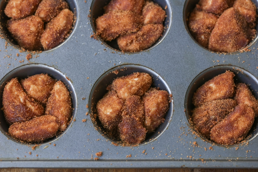 Monkey Bread in Muffin Tins
