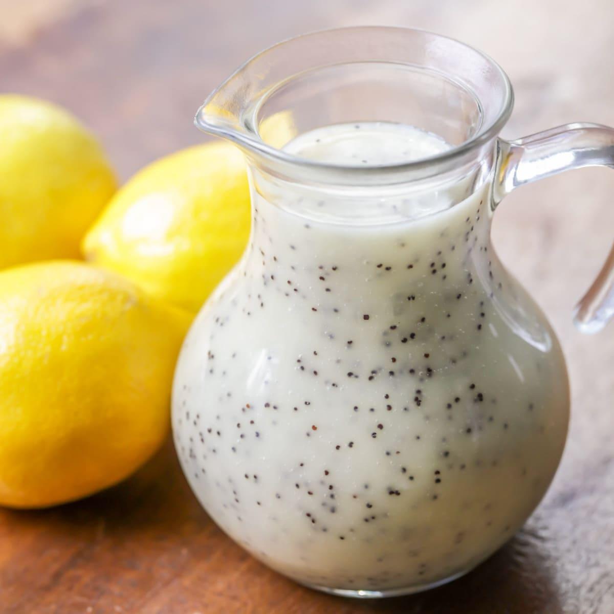 Lemon Poppyseed Dressing recipe