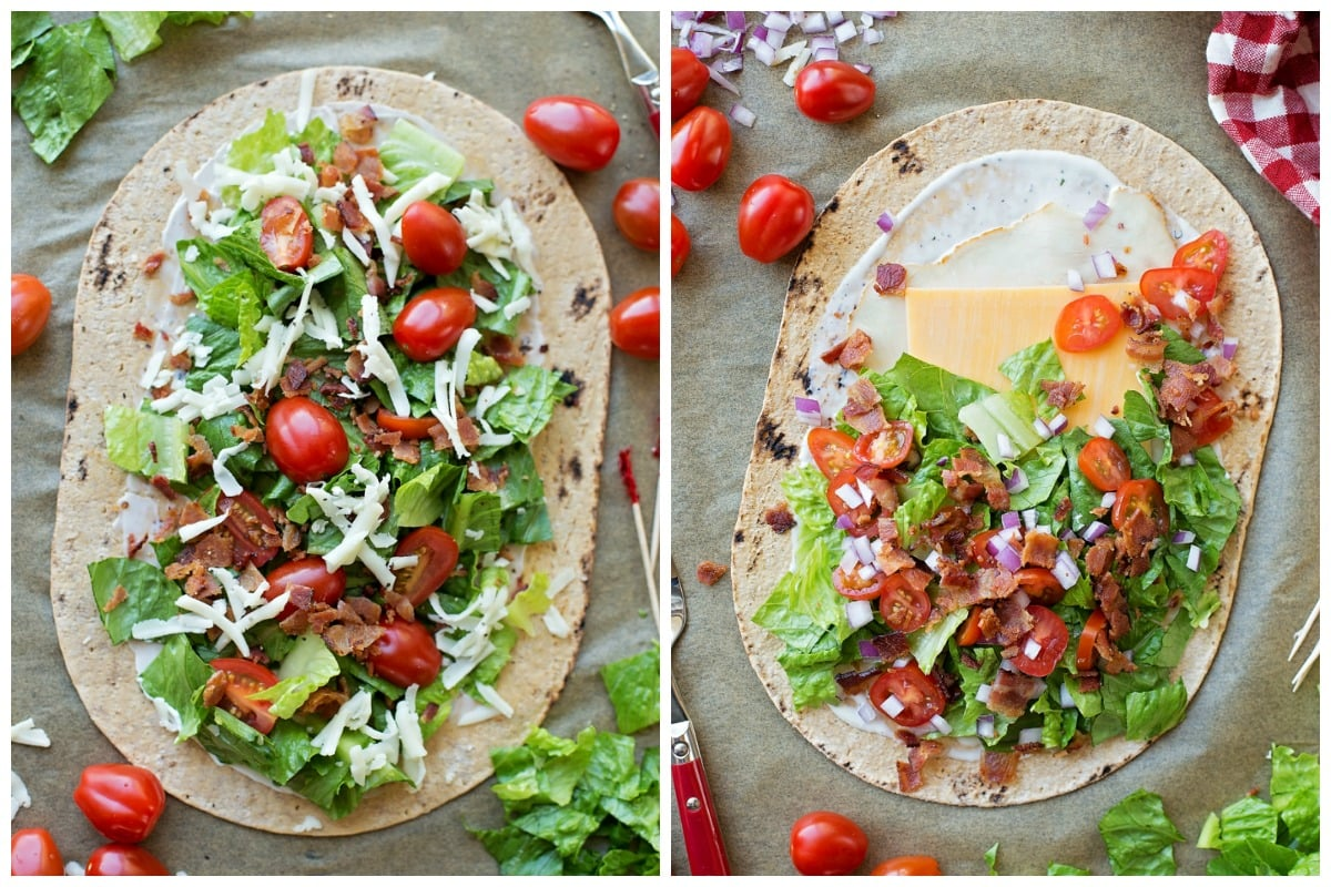 How to make Flatbread Wraps