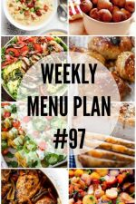 Weekly Menu Plan 97