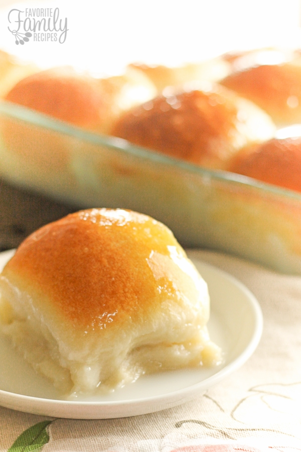 Sweet Coconut Rolls